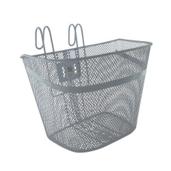 Steel Mesh Basket White