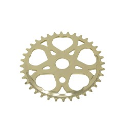 Sweet Heart Chainring 36t 1/2 X 1/8 Gold