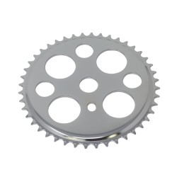 Lucky 7 Chainring 44t 1/2 X 3/32 Chrome