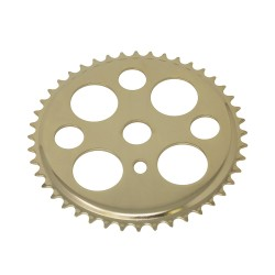Lucky 7 Chainring 44t 1/2 X 1/8 Gold