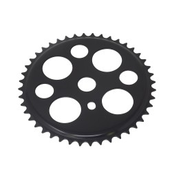 Lucky 7 Chainring 44t 1/2 X 1/8 Black