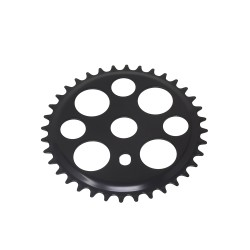 Lucky 7 Chainring 36t 1/2 X 1/8 Black