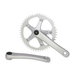 Alloy Chainwheel Set 48Tx170Mm Silver