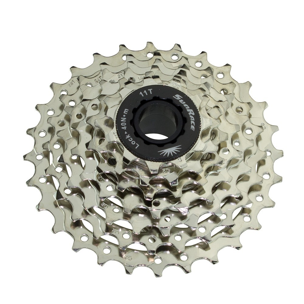 7 Speed Cassette 11/28T Index Cms-63 Satin Sun Race