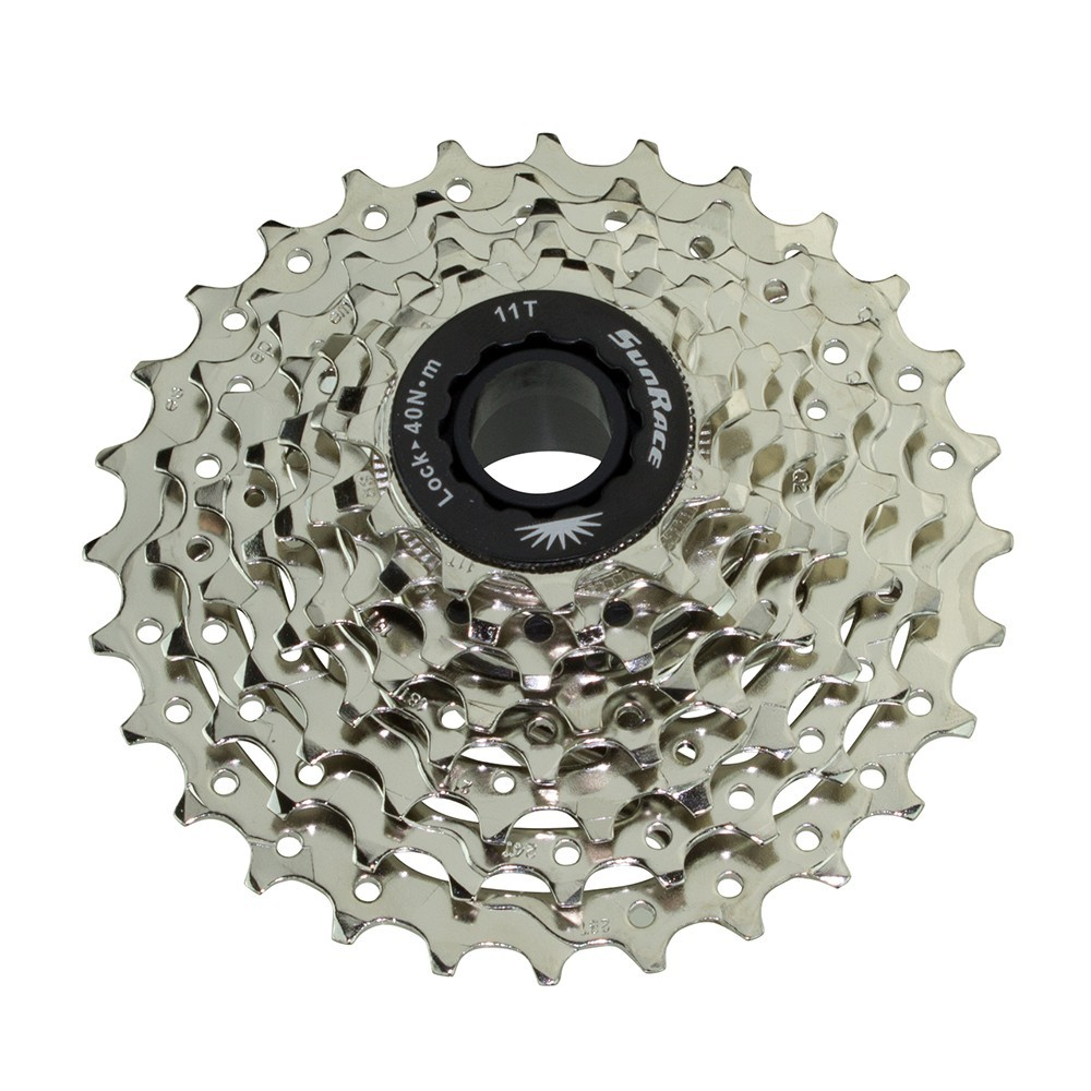 8 Speed Cassette 11/28T Index Csr-86 Satin Sun Race
