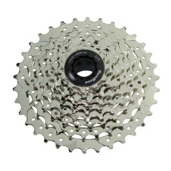 9 Speed Cassette 11/34T Index Csm-96 Satin Sun Race